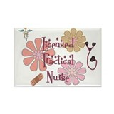Cute Lpn t Rectangle Magnet
