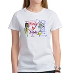 NURSES ARE ANGELS NURSE GIRL T-Shirt