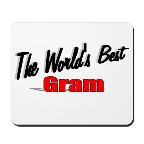 """The World's Best Gram"" Mousepad"