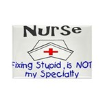 NURSE FIXING STUPID IS NOT MY SPECIALTY NURSE CAP.