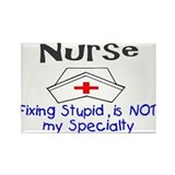 Cool Nurse Rectangle Magnet