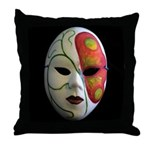 Norma's Nature Face Throw Pillow