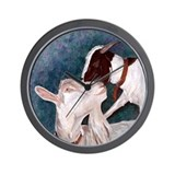 Goats Bill & Sally Wall Clock