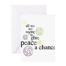 All We Are Saying Greeting Card