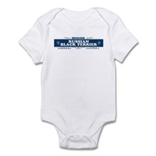 RUSSIAN BLACK TERRIER Infant Bodysuit