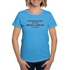 Scrapbooker Deadly Ninja Tee