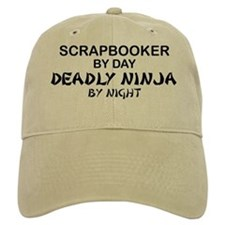 Scrapbooker Deadly Ninja Baseball Cap