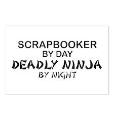 Scrapbooker Deadly Ninja Postcards (Package of 8)