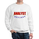 Retired Analyst Sweatshirt
