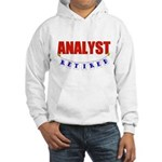 Retired Analyst Hooded Sweatshirt