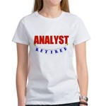 Retired Analyst Women's T-Shirt
