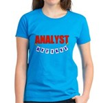 Retired Analyst Women's Dark T-Shirt