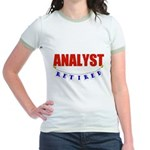 Retired Analyst Jr. Ringer T-Shirt