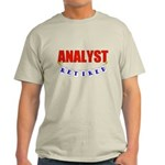 Retired Analyst Light T-Shirt