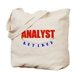 Retired Analyst Tote Bag
