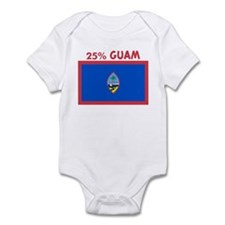 25 PERCENT GUAM Infant Bodysuit