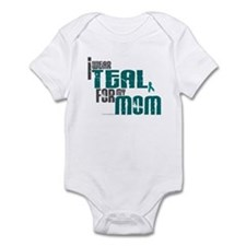 I Wear Teal For My Mom 6 Infant Bodysuit