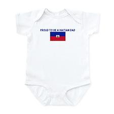 PROUD TO BE A HAITIAN DAD Infant Bodysuit