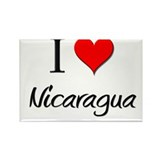 I Love New Guinea Rectangle Magnet (10 pack)