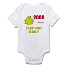 2008 Leap Year Baby Infant Bodysuit