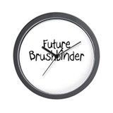 Future Brushbinder Wall Clock