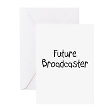 Future Broadcaster Greeting Cards (Pk of 10)