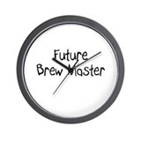 Future Brew Master Wall Clock