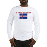 ID RATHER BE IN ICELAND Long Sleeve T-Shirt