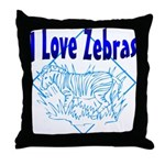 Zebra Throw Pillow
