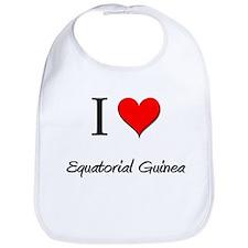 I Love Equatorial Guinea Bib