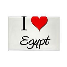 I Love Egypt Rectangle Magnet (10 pack)