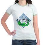 Zebra Jr. Ringer T-Shirt