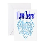 Zebra Greeting Cards (Pk of 10)