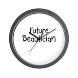 Future Beautician Wall Clock