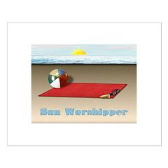 SUN WORSHIPPER Posters