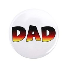 """DAD gift for dogs 3.5"""" Button"""