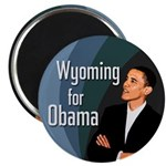 Wyoming for Obama Campaign Magnet