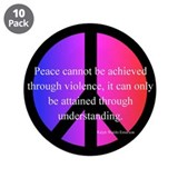 "Peace 3.5"" Button (10 pack)"