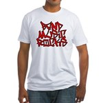 Band Music Rocks Fitted T-Shirt