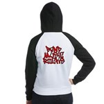 Band Music Rocks Women's Raglan Hoodie