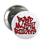 "Band Music Rocks 2.25"" Button (10 pack)"