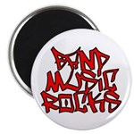 Band Music Rocks Magnet