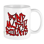 Band Music Rocks Mug