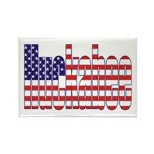 Mike Huckabee President Flag Rectangle Magnet