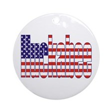 Mike Huckabee President Flag Ornament (Round)