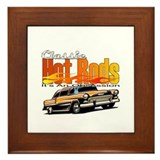 Classic Hot Rod Framed Tile