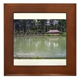 Le Reve Resort Huts Framed Tile