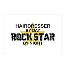 Hairdresser Rock Star Postcards (Package of 8)