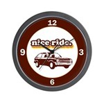 Nice Ride Wall Clock