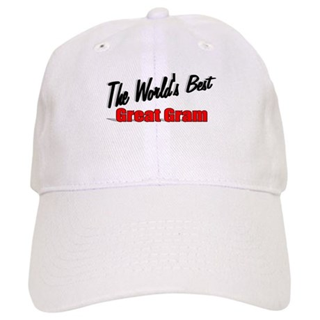 """The World's Best Great Gram"" Cap"